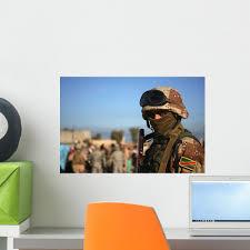 Iraqi Soldier Wall Decal Wallmonkeys Com