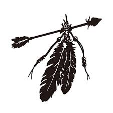 12 4 12 8cm Native American Feather Arrow Car Sticker Truck Window Decal Wish