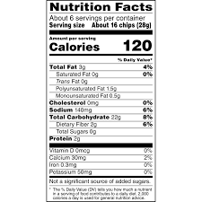 calories in small bag of lays chips