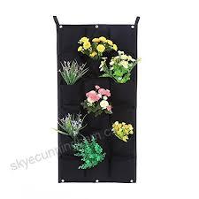 vertical wall garden planter 18 pockets
