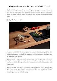 Tìm chỗ bán bếp kính âm 2 điện giá rẻ chất lượng.pdf