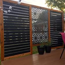 Shadowbox 6x6 Vinyl Fence Panel Vinyl Fence Freedom Outdoor Living For Lowes In 2020 Privacy Fence Designs Fence Design Backyard Privacy Screen