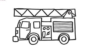 Ảnh đẹp: Tổng hợp các bức tranh tô màu xe cứu hỏa đẹp - Thư Viện Ảnh