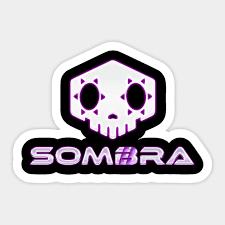 Sombra Overwatch Overwatch Sticker Teepublic