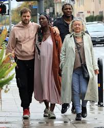Joshua Jackson Kisses Pregnant Jodie Turner-Smith Ahead of Due Date