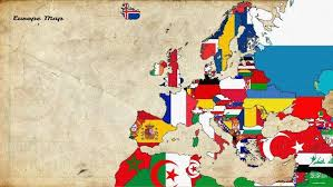 europe old map flag wallpapers hd