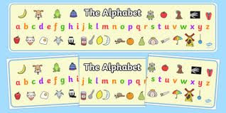 Free Alphabet Display Banner Teacher Made