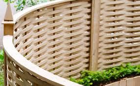Curved Oak Fencing Panels Quercus Fencing Quercus Fencing