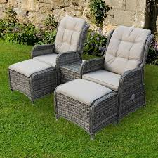 newbury reclining chairs footstools