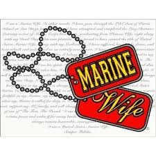 Marine Wife Creed Decal Notebook Decal Family Decals Marine Wife