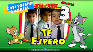 Video Invitacion Digital Tom Y Jerry Cumpleanos Youtube