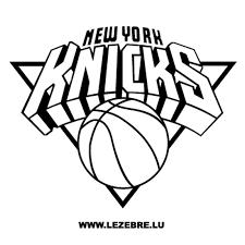 New York Knicks Logo Sticker