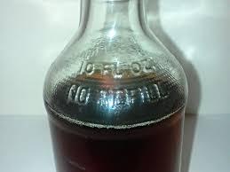 vintage 1970 s embossed pepsi bottle