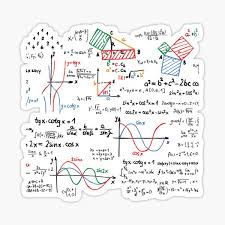 Mathematics Stickers Redbubble