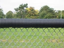 Poly Cap Fence Toppers Chain Link Fence Guards For Ballparks Pyt Sports