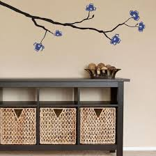 Dogwood Branch Blue Wall Decal Wall Decal Allposters Com