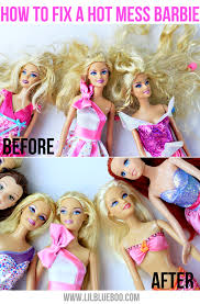 how to detangle doll hair tutorial