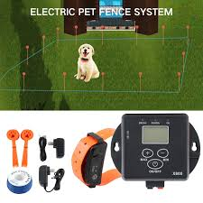 In Ground Electronic Wireless Remote For 1 Dog Training Collar Fence Containment System Electric Shock Collar Dropshipping Training Collars Aliexpress