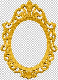 frames levkas gold wood oval oval