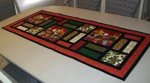 table runner stained glass
