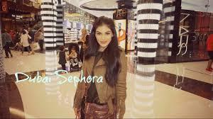 dubai mall sephora huda beauty you