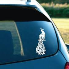 Buy Peacock Car Decal At Affordable Price From 3 Usd Best Prices Fast And Free Shipping Joom