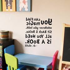 Wall Decal Vinyl Sticker Kidsroom Decor Playroom Classroom Art Dr Seuss Quote
