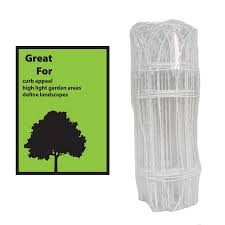 Garden Accents Rolling Fence 20 Ft X 1 17 Ft White Steel Welded Wire Rolled Fencing In The Rolled Fencing Department At Lowes Com