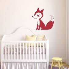 Tribal Fox Vinyl Wall Decal Nursery Decor Woodland Animal Wall Stickers For Kids Nursery Room Home Decoration L71 Wish