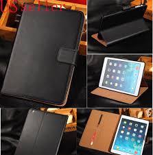 genuine leather flip smart case cover