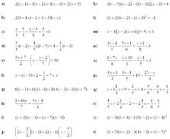 math exercises math problems linear