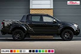 Decal Graphic Sticker Vinyl Side Bed Mud Splash Kit For Ford Ranger T6 Offroad Ebay