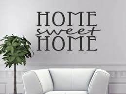 Vinyl Decals Home Sweet Home Kitchen Wall Words Art Stickers Home Decor Decal Ebay