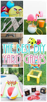 do it yourself outdoor party games the