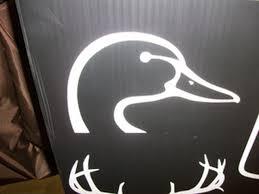 Duck Head Window Decal S S Hunting Supplies Inc