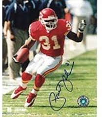 Priest Holmes Autographed 8x10 Photo at Amazon's Sports Collectibles Store
