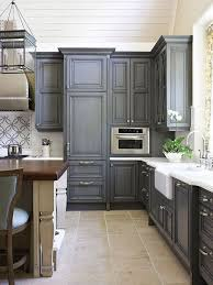 charcoal grey cabinets home kitchen