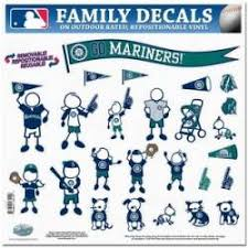 Seattle Mariners Stickers Decals Bumper Stickers