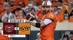Missouri State vs Oklahoma State Football Highlights (2018) - Stadium
