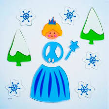 The Holiday Aisle Bag Large Ice Princess Window Decal Wayfair