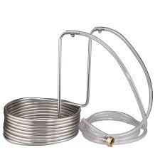 snless steel wort chiller 25