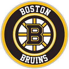 Amazon Com Hotprint Bruins Hockey Boston Logo Sport Car Bumper Sticker Decal 5 X 5 Kitchen Dining