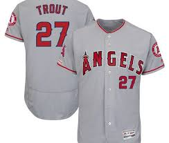 whole mike trout game jersey
