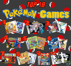 Top 10 Pokémon Games | It's my favorite day of Top 10 Week-…