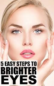 how to make blue eyes look brighter