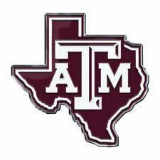 Texas A M Aggies Fan Decals For Sale Ebay