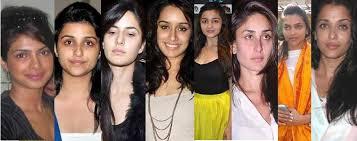 top 30 bollywood actress without makeup