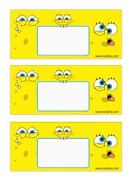 Imprimibles Bob Esponja 6 Png 794 1123 Aniversario Do Bob