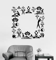 Vinyl Wall Decal Spa Set Relax Beauty Salon Stickers Mural 590ig For Sale Online