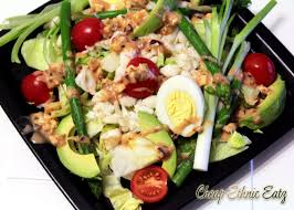 Crab Louie Salad, the healthy San ...
